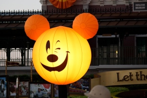 Smiling Pumpkin Mickey