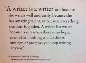 Writers Write