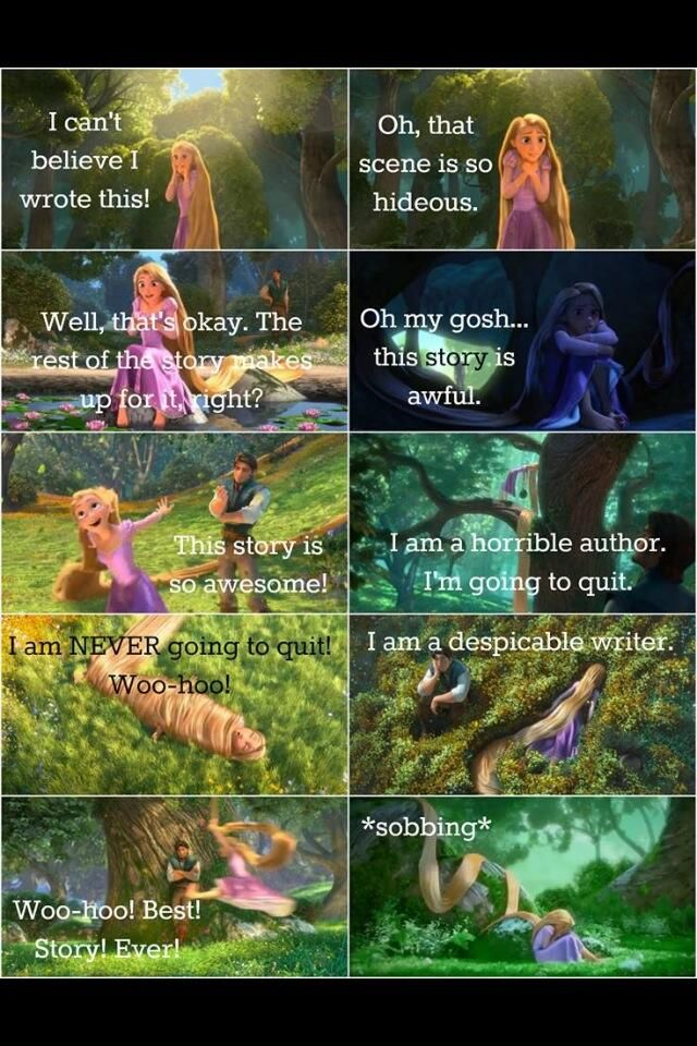 Rapunzel Writing