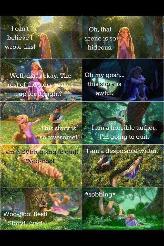 Rapunzel Writing