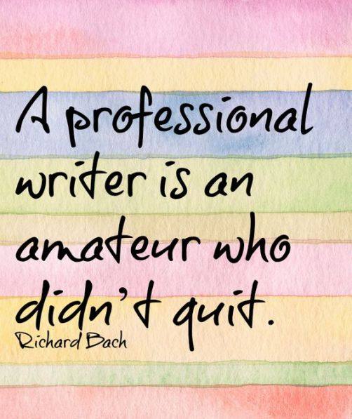 A Professional Writer