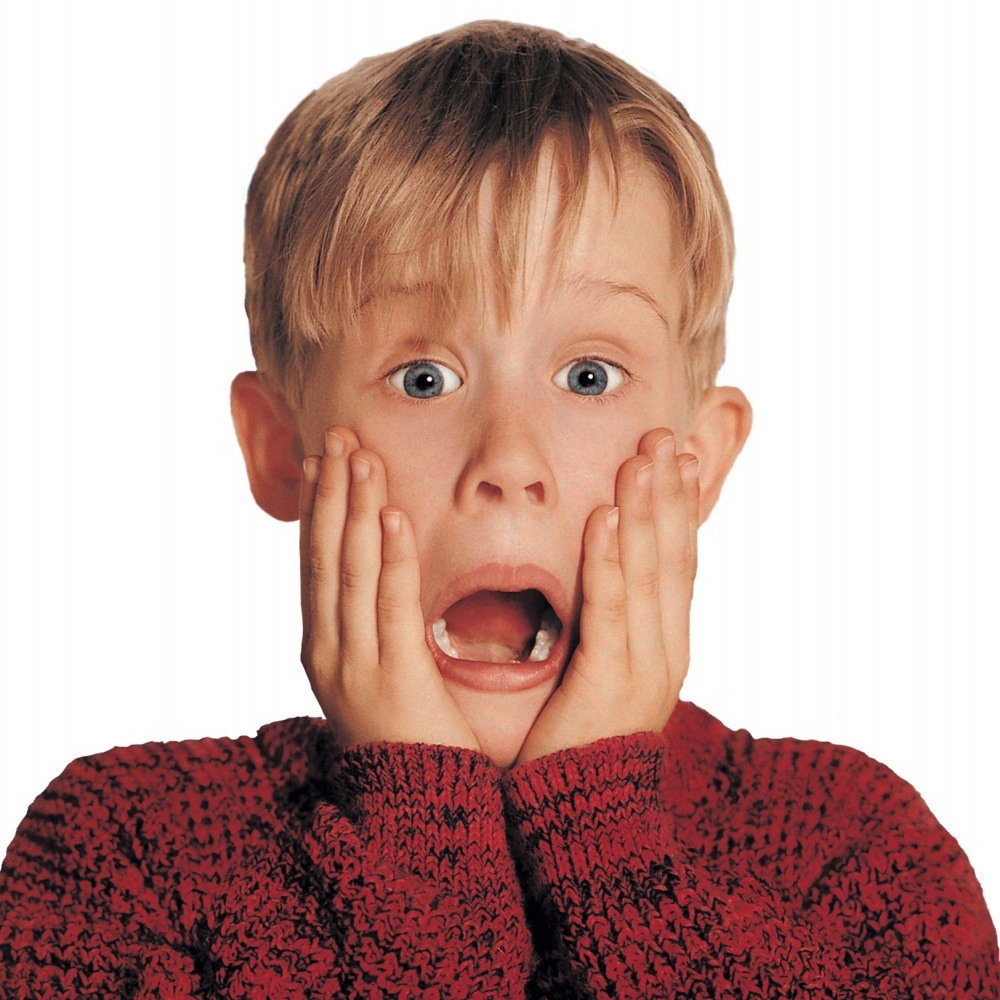 Shocked home-alone